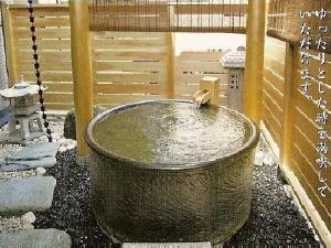 おとぎ亭に誕生の心和む温泉露天風呂付客室